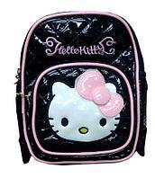 Рюкзак детский для девочек «Hello Kitty» (Черный)