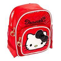 Рюкзак детский для девочек «Hello Kitty» (Красный)