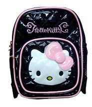Рюкзак детский для девочек «Hello Kitty» (Красный), фото 2