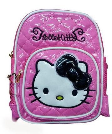 Рюкзак детский для девочек «Hello Kitty» (Ярко-розовый), фото 2