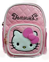 Рюкзак детский для девочек «Hello Kitty» (Ярко-розовый), фото 3