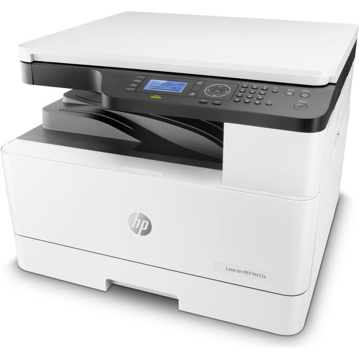 МФУ HP 1VR14A HP LaserJet MFP M433a Printer (A3) Printer/Scanner/Copier, 600 dpi, 20/12ppm (A4/A3), 128 MB, 60