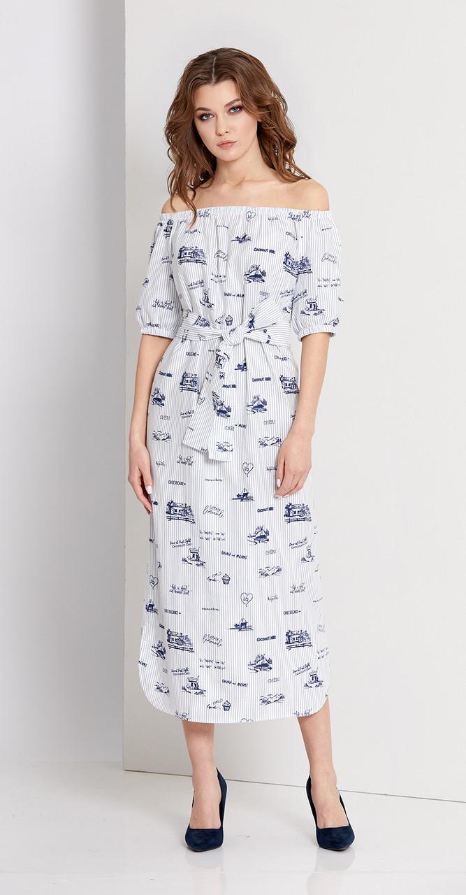 Платье EOLA-1675, белый, 44