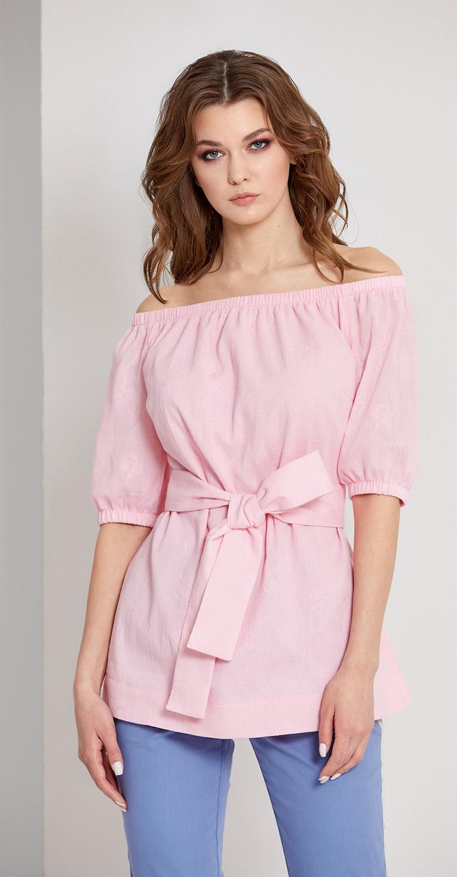 Блузка EOLA-1676/1, розовый, 46