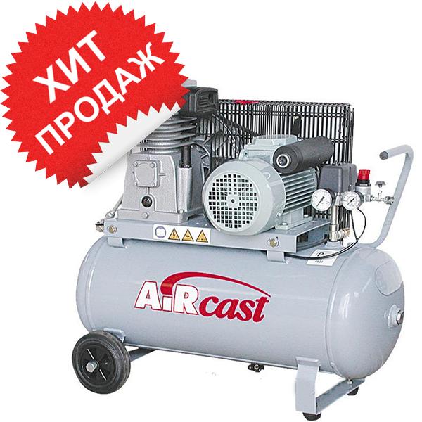 Поршневой компрессор с электродвигателем Remeza Aircast СБ4/С-100. LH20-2.2