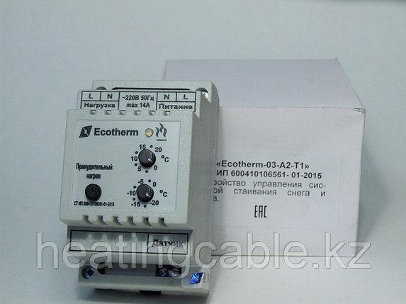 Терморегулятор ECOTHERM-03-A2-T1, фото 2