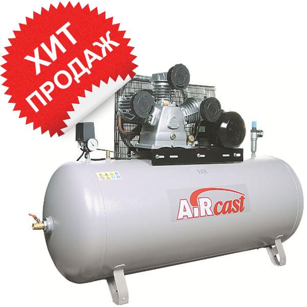 Поршневой компрессор с электродвигателем Remeza Aircast СБ4/Ф-270. LB 75