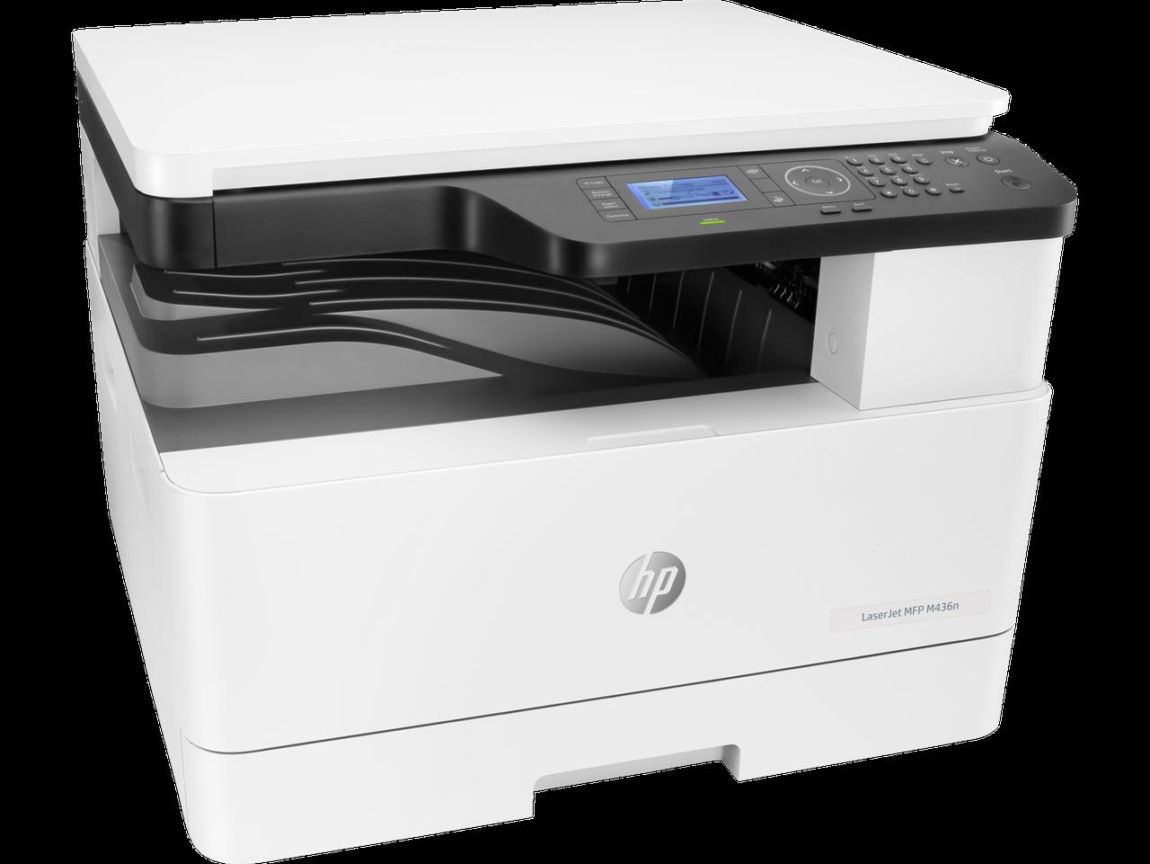 МФУ W7U01A HP LaserJet MFP M436n Printer (A3) Printer/Scanner/Copier, 600 dpi, 23/12ppm (A4/A3), 128 MB, 600 M