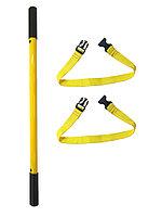 Крепеж для горки ДСК Индиго (перекладина ската + ремень фиксации) цв. желтый