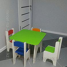 Детский стол и стуля на заказ