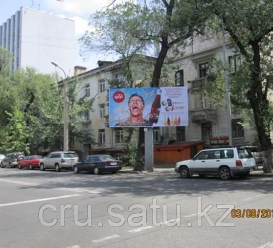 Ул. Богенбай батыра – ул. Наурызбай батыра