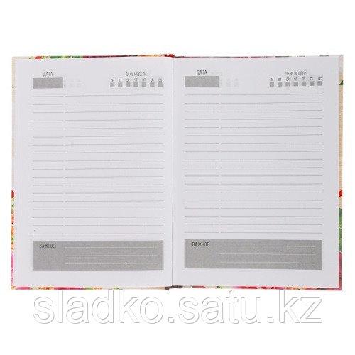 Ежедневник учителя твёрдая обложка А5 160 листов - фото 2