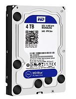 Жесткий диск HDD 4000 Gb Western Digital (WD40EZRZ), 64Mb, SATA III