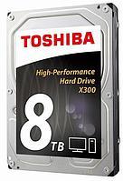"Жесткий диск HDD 8Tb TOSHIBA X300 SATA (HDWF180EZSTA)(3.5"")"