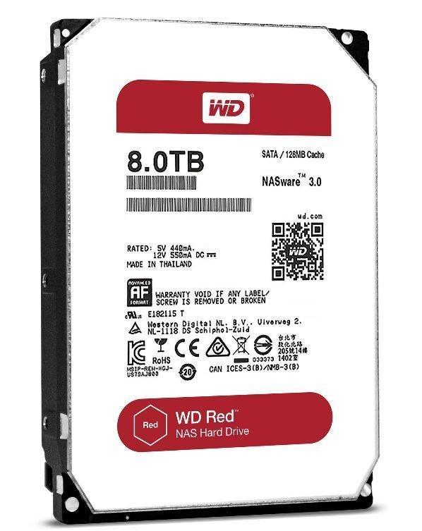 """Жесткий диск Western Digital Red 8 Тб SATA (WD80EFAX) (3.5"""")"""