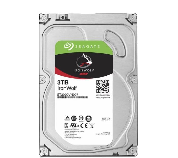 "Жесткий диск для NAS систем 3Tb HDD Seagate IronWolf SATA (ST3000VN007) (3.5"")"