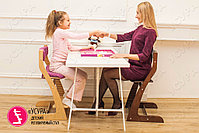 Детский растущий стул Усура  Бело-бежевый, фото 2