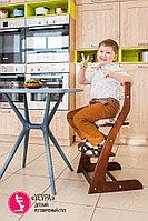 Детский растущий стул Усура  Бело-бежевый, фото 3