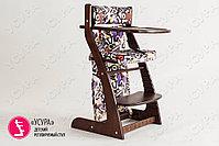 Детский растущий стул Усура  Бело-бежевый, фото 5