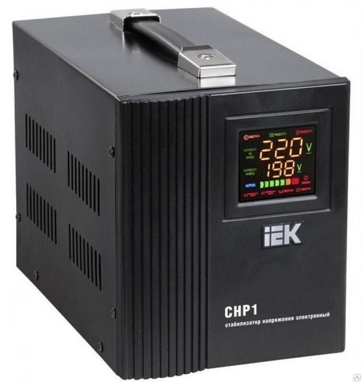 Стабилизатор напряжения однофазный 10 кВА СНР1-0-10 кВА IEK