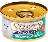 STUZZY GOLD консервы для кошек Мусс, Индейка и Ягненок 85гр, фото 1