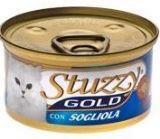 STUZZY GOLD консервы для кошек Мусс Камбала 85гр, фото 1