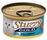 STUZZY GOLD консервы для кошек мусс из индейки 85гр