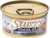 STUZZY GOLD консервы для кошек Кусочки, Индейка 85гр, фото 1