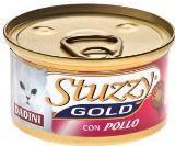 STUZZY GOLD консервы для кошек кусочки курицы в соусе 85гр, фото 1