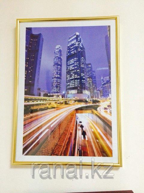 Пластиковые рамки для фотографий А3 формата в Алматы