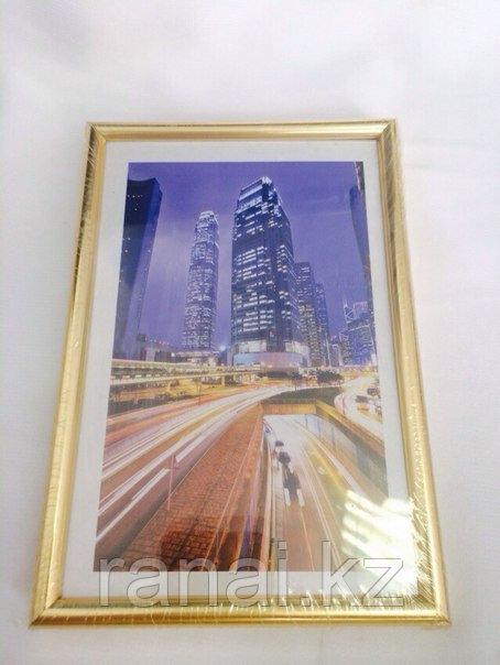 Пластиковые рамки для фотографий 10х15 формата в Алматы разных цветов