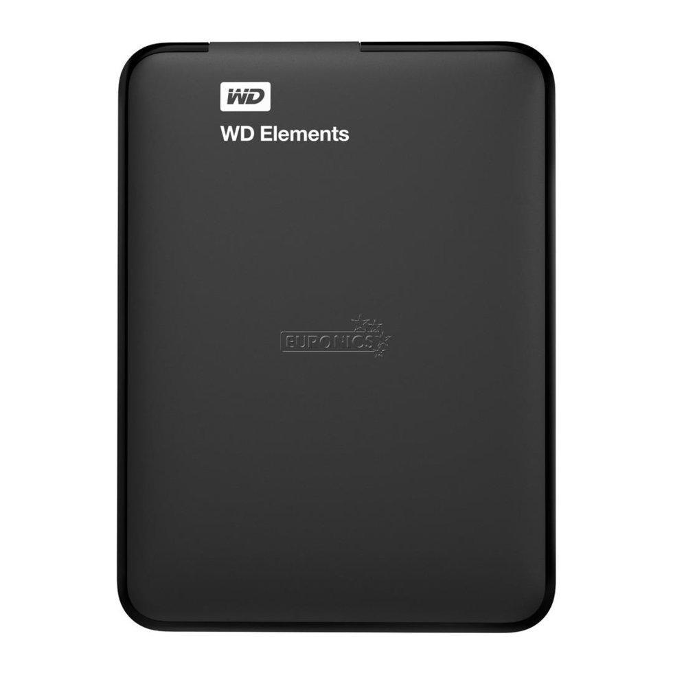 """Внешний жесткий диск HDD Western Digital Elements Portable  1Tb USB 3.0 (WDBUZG0010BBK-WESN) (2.5"""")"""