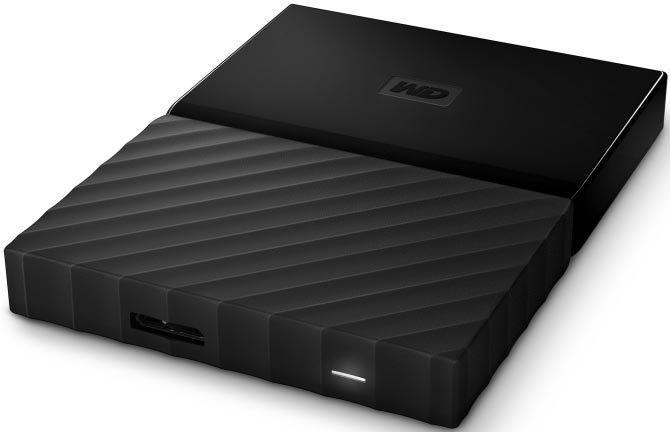"Внешний жесткий диск HDD Western Digital Elements Portable 2Tb USB 3.0 (WDBLHR0020BBK-EEUE) (2.5"")"