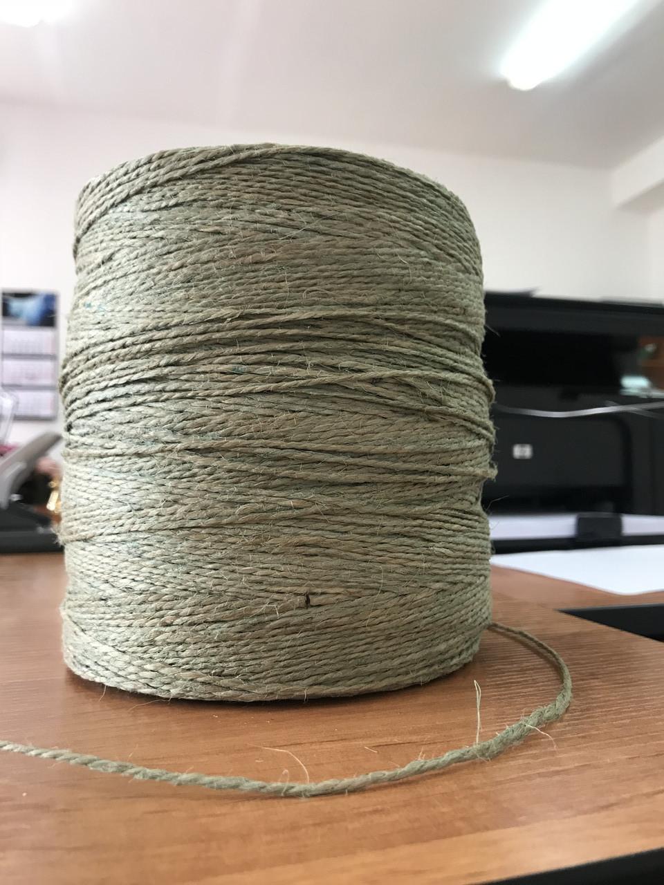 Шпагат джутовый полированный диаметр 1,5мм