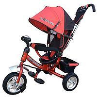 Велосипед трехколесный Lexus trike надувные колеса  Красный