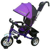 Велосипед трехколесный Lexus trike надувные колеса  Фиолетовый