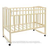 Детская кроватка ВДК Magico (колесо-качалка), цвет темный  орех, фото 2