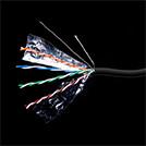 SHIP D146-P кабель сетевой Cat.5e, FTP, 4x2x1/0.51мм, РЕ, 305 м/б (Для внешней прокладки)