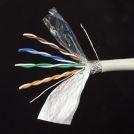 SHIP D155-P кабель сетевой Cat.5e, SF/UTP, 4x2x1/0.51мм, PVC, 305 м/б (Двойной внешний экран)