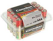 Батарейка Camelion AA LR6-PB24, Plus Alkaline, 1.5V, 2800 mAh (24 шт.)