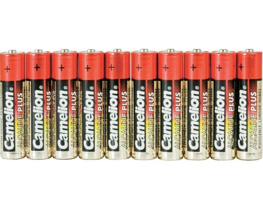 Батарейка Camelion AA LR6-SP10-DA, Plus Alkaline, 1.5V, 2800 mAh (10 шт.)