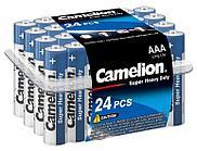 Батарейка Camelion AAA R03P-PB24B, Super Heavy Duty, 1.5V, 550mAh (24 шт.)