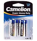 Батарейка Camelion C R14P-BP2B, Super Heavy Duty, 1.5V, (2 шт.)