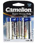 Батарейка Camelion D R20P-BP2B, Super Heavy Duty, 1.5V, 8450 мАч (2 шт.)