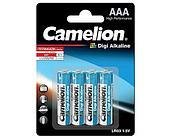 Батарейка Camelion LR03-BP4DG, Digi Alkaline, AAA, 1.5V, 1250mAh (4 шт.)