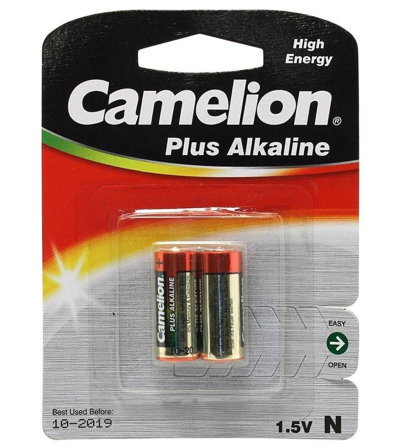 Батарейка Camelion LR1-BP2, Alkaline, Тип N (2 шт.)
