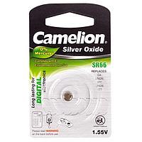 Батарейка Camelion SR66-BP1, Silver Oxide, 1.55V (1 шт.)