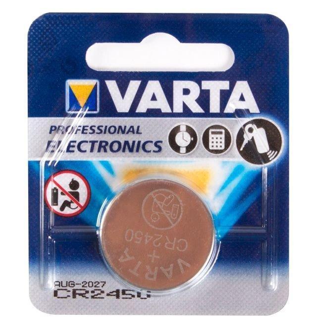 Батарейка Varta CR2450, 3V, Professional Electronics (1 шт.)
