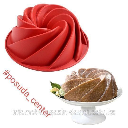 Силиконовая форма для торта (Цветочный)