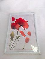 Рамка 10х15 см -Пластик,орг стекло. Цена - 300тг